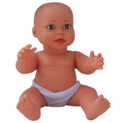 "Get Ready Kids Vinyl Gender-Neutral Baby Doll, Caucasian, 17 1/2"", Pre-K To Grade 2"