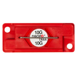 Drop-N-Tell 10G Indicators, Case of 25