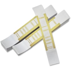 PM™ Company Currency Bands, $10,000.00, Yellow, Pack Of 1,000