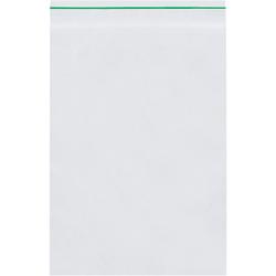 "Minigrip Reclosable GreenLine Bags 2 Mil, 2"" x 2"", Box of 1000"