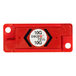 Drop-N-Tell 10G Resettable Indicators, Case of 25