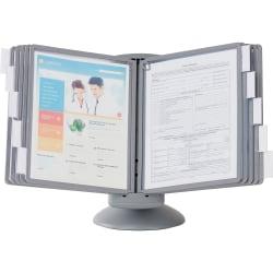 Sherpa® Motion Desk Reference System, Graphite, 10 Panels
