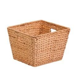 Honey-Can-Do Water Hyacinth Basket, Medium Size, Brown/Natural