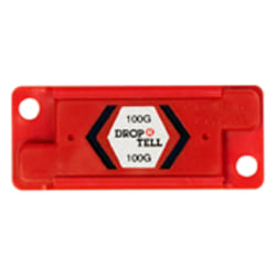 Drop-N-Tell 100G Resettable Indicators, Case of 25