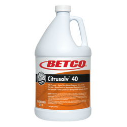 Betco® Citrusolv™ 40 Heavy-Duty Solvent Degreaser, Citrus Scent, 128 Oz Bottle, Case Of 4