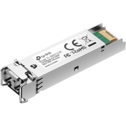 TP-LINK TL-SM311LM Gigabit SFP module, Multi-mode, MiniGBIC, LC interface, Up to 550/275m distance - For Data Networking - 1 x 1000Base-SX