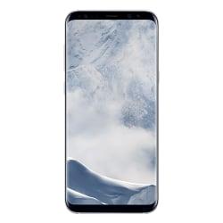 Samsung Galaxy S8+ G955F Cell Phone, Arctic Silver, PSN101021