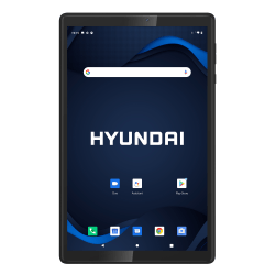 "Hyundai HyTab Plus 10WB1 Tablet, 10.1"" Screen, 2GB Memory, 32GB Storage, Android 10, Black, HT10WB1MBK"