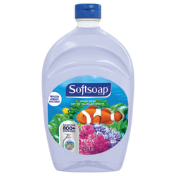 Softsoap® Aquarium Design Liquid Hand Soap, Fresh Scent, 50 Oz Bottle