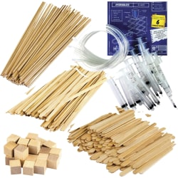 "Teacher Created Resources STEM Starters Hydraulics Kit - Project, Student, Education, Craft - 4"" x 11""13.50"" - 1 Kit - Multi"