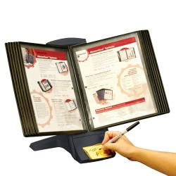 MasterView® Modular Desktop System, Charcoal Gray