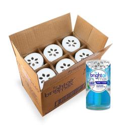Bright Air Max Odor Eliminator Air Freshener - Gel - 4 fl oz (0.1 quart) - Cool Clean - 6 / Carton - Phthalate-free, BHT Free, Paraben-free, Formaldehyde-free, NPE-free, Triclosan-free