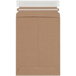 """Partners Brand Kraft Utility Flat Mailers, 6"""" x 9"""", Pack of 250"""