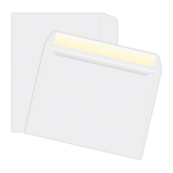 "Quality Park® Open-Side Booklet Envelopes, 6"" x 9"", White, Box Of 500"