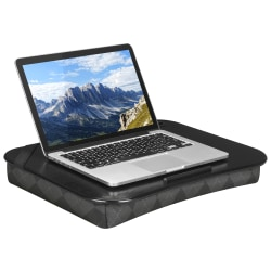 "LapGear XL Designer Lap Desk, Gray Argyle, 18.5"" x 14.8"""