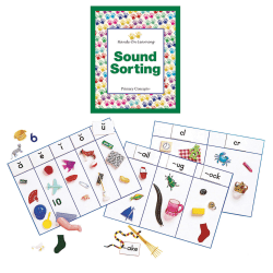 Primary Concepts™ Sound Sorting With Objects, Blends And Digraphs, Pre-K To Grade 2