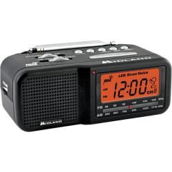 Midland WR11 Clock Radio - AM, FM