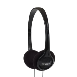 Koss® KPH7 Portable Over-The-Head Headphones, Black