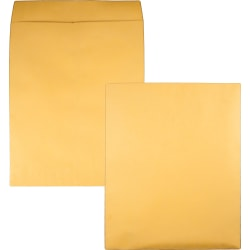 "Quality Park® Jumbo Catalog Envelopes, 14"" x 18"", Brown, Box Of 25"