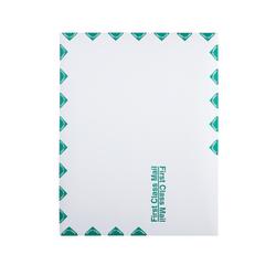 "Quality Park® Redi-Strip™ Catalog Envelopes, First Class, 10"" x 13"", White, Box Of 100"