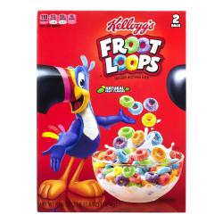 Kellogg's Froot Loops Cereal, 43.6-Oz Box