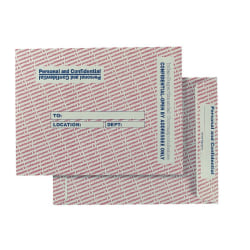 """Quality Park® Personal And Confidential Interdepartment Envelopes, 10"""" x 13"""", Gray, Box Of 100"""