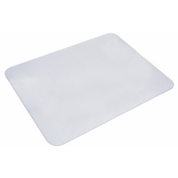 "Artistic™ Eco-Clear™ Desk Pad With Antimicrobial Protection, 12"" H x 17"" W, Frosted Clear"