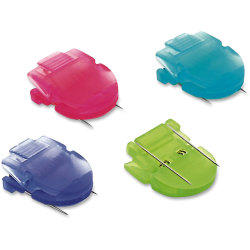 Advantus Panel Wall Clips, Assorted Colors, Box Of 50