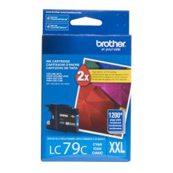 Brother® LC79C Super-High-Yield Cyan Ink Cartridge