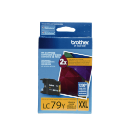 Brother® LC79Y Super-High-Yield Yellow Ink Cartridge