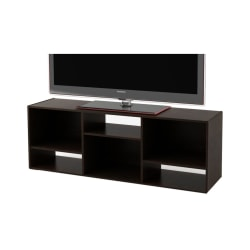 "Ameriwood™ Home TV Stand For 60"" TVs, 21 1/4""H x 60 7/8""W x 15 5/8""D, Black Forest"