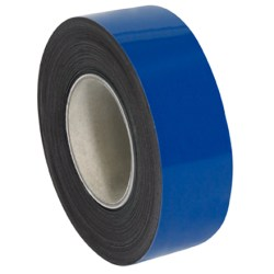 """Partners Brand Blue Warehouse Labels, LH130, Magnetic Rolls 2"""" x 50', 1 Roll"""