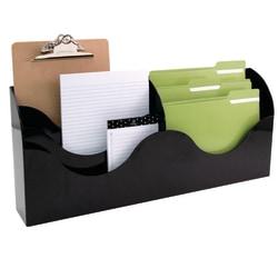 Innovative Storage Designs 6-Pocket File Organizer, Black