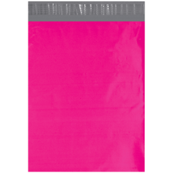 """Office Depot® Brand 12"""" x 15-1/2"""" Poly Mailers, Pink, Case Of 100 Mailers"""