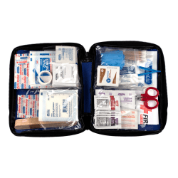 PhysiciansCare® Soft-Sided First Aid Kit, Blue, 195 Pieces