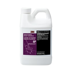 3M™ 8P General-Purpose Cleaner Concentrate, 64.2 Oz Bottle