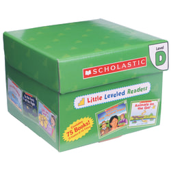 Scholastic® Little Leveled Readers Book: Level D Box Set, Grades K-2, Pack Of 75 Books