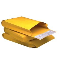 """Quality Park® Redi-Strip® Expansion Envelopes, 9"""" x 12"""" x 2"""", 40 Lb, Brown Kraft, Box Of 25"""