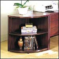 HON® 10500 Series™ End-Cap Bookshelf, Mahogany