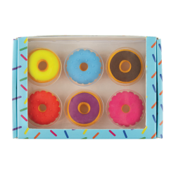 Office Depot® Brand Pencil Erasers, Donuts, Pack Of 6