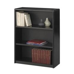Safco® Value Mate® Steel Bookcase, 3 Shelves, Black