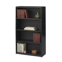 Safco® Value Mate® Steel Bookcase, 4 Shelves, Black