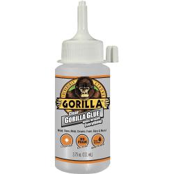Gorilla Clear Glue - 3.75 fl oz - 1 Each - Clear
