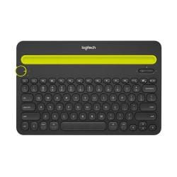 Logitech® K480 Multi-Device Wireless Keyboard, Compact, Black, 920-006342