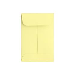 "LUX Coin Envelopes, #1, 2 1/4"" x 3 1/2"", Lemonade, Pack Of 500"
