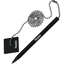PM Preventa Standard Counter Pen, Black Barrel, Black Ink
