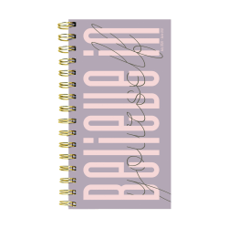 "TF Publishing Small Academic Weekly/Monthly Planner, 3-1/2"" x 6-1/2"", Believe In Yourself, July 2020 To June 2021"