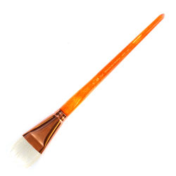 Princeton Series 5400 Natural Bristle Paint Brush, Size 20, Bright Bristle, Natural, Orange