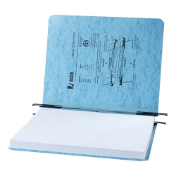 """ACCO® PRESSTEX® Hanging Report Covers, Letter Size Sheets, 2"""" Capacity, Light Blue"""