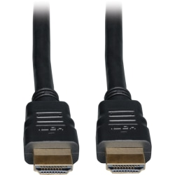 """Tripp Lite 20ft High Speed HDMI Cable with Ethernet Digital Video / Audio 4Kx 2K M/M 20' - HDMI for Audio/Video Device, TV, Monitor, iPad - 20 ft - 1 x HDMI Male Digital Audio/Video - 1 x HDMI Male Digital Audio/Video - Shielding - Black"""""""